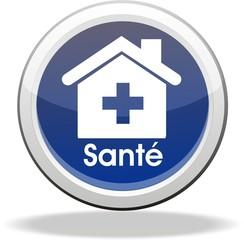 bouton maison de santé