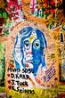Muro de John Lennon (Praga) - Retrato (Toma 1)