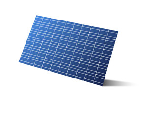photovoltaique fond blanc