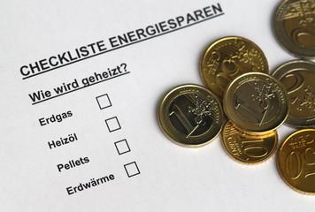 Checkliste Energiesparen III
