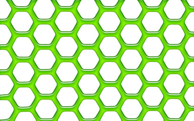 Green jelly net / grid
