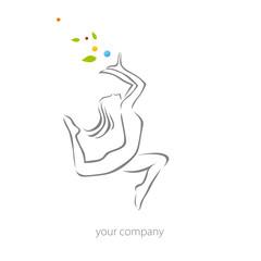 logo entreprise, fitness