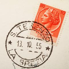 francobollo antico