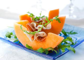 Prosciutto and melon.