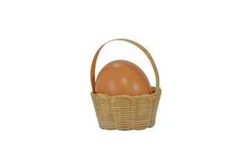 an egg in the basket