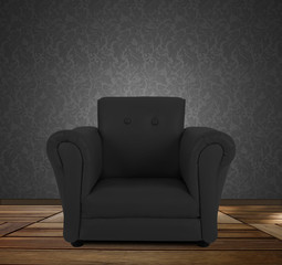 Chair in Black Room