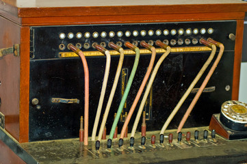 Old Fashioned switch board