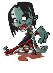 zombie. VECTOR