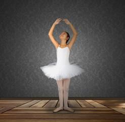 Classic Dance in Black Room
