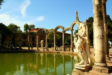 Villa Adriana - Canopo - Colonnato