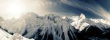 Fototapeta panoramiczny - szczyt - Wysokie Góry