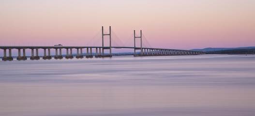 Second Severn Crossing at Dawn