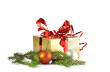 Fototapety Gift and baubles isolated
