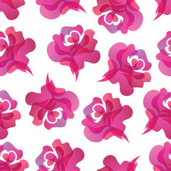 Rose seamless background