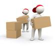 3D Man packing case
