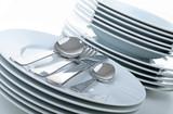 vaisselle, assiettes et couverts