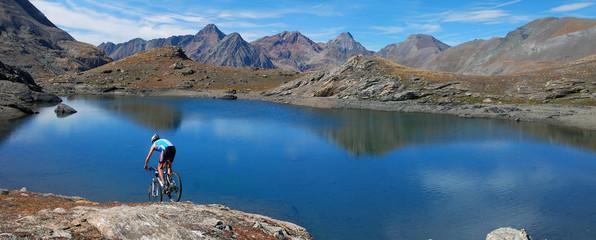 MTB per i laghi Alpini
