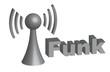 Funkverbindung 3D Grafik - Funk