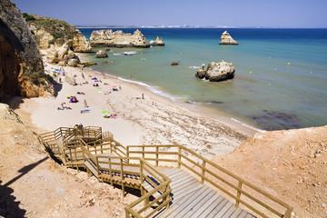 Playa de Oura. Algarve. Portugal