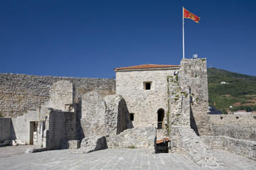 Fortification in Budva, Montenegro.