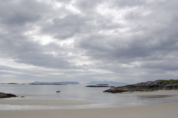 Eigg and Rum from Arisaig