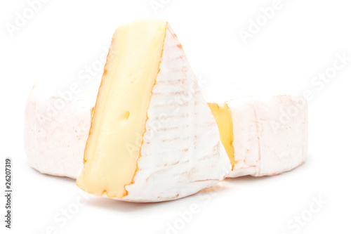 Soft cheese and piece