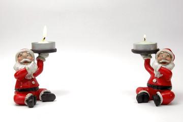 Santa claus.Adornos navideños