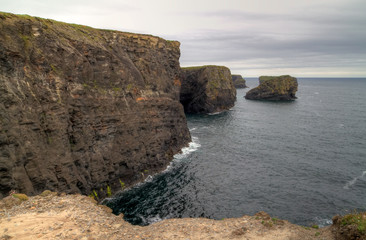 High cliff of Kilkee - Ireland