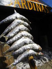 pescadilla en Andalucia, España