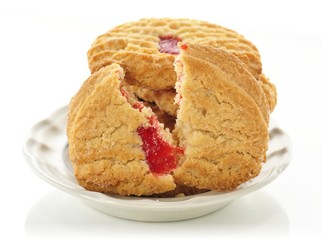 strawberry cookies