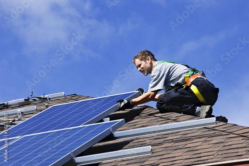 Solar panel installation - 26233951