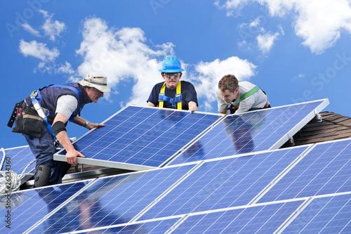 Solar panel installation - 26234360