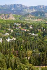 Simeiz town (Crimea, Ukraine)