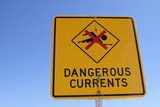 Dangerous currents - Bondi beach poster