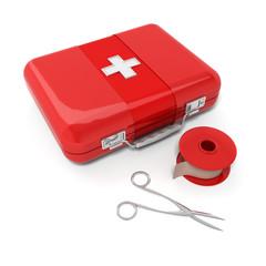 mallette de premiers secours