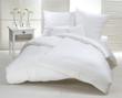 Leinwandbild Motiv Weißes Doppelbett