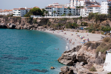 Playa del Salón de Nerja (Málaga, España)