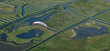 Survol en paramoteur du marais de la Vinière, Vendée (85)