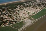 Fototapety Zone sinistrée de la Faute-sur-Mer ( Quatier d'Arçais )