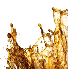 cola refreshment splash