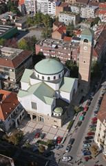 St. Blaise church in Zagreb, Croatia