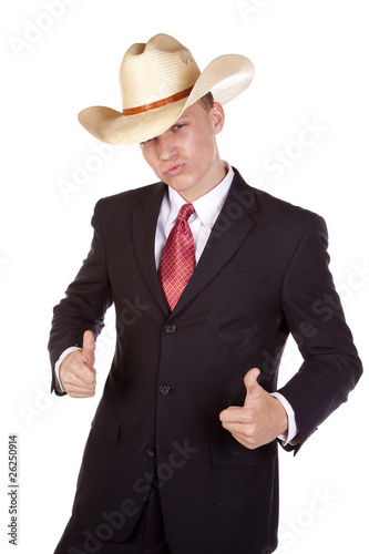 thumbs up cowboy