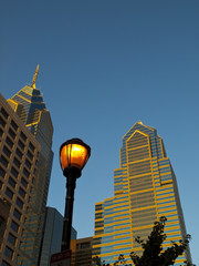 Philadelphia Skyscrapers (focus on buildings)