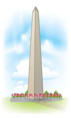 vector Washington Monument