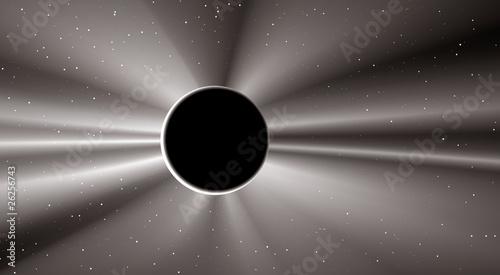 beautiful solar eclipse
