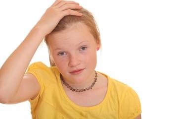 Frustriertes Teenager Mädchen
