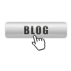 Button Blog silber