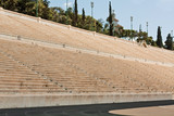 Panathenian Stadium in Athens, Greece
