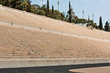 Panathenian Stadium in Athens, Greece