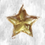 sketchy star poster